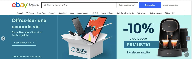 meilleur site de vente en ligne ebay