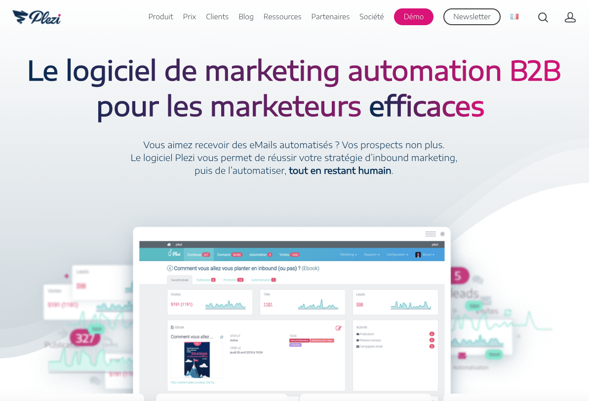 plezi marketing automation