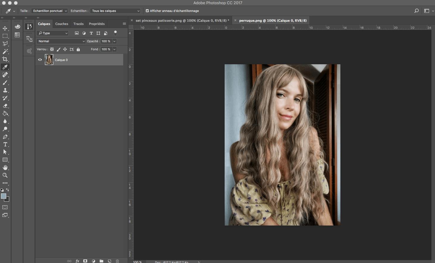 changer le fond d'une photo avec photoshop
