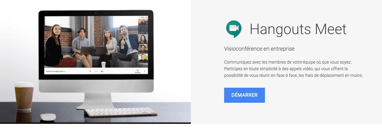 google visioconference