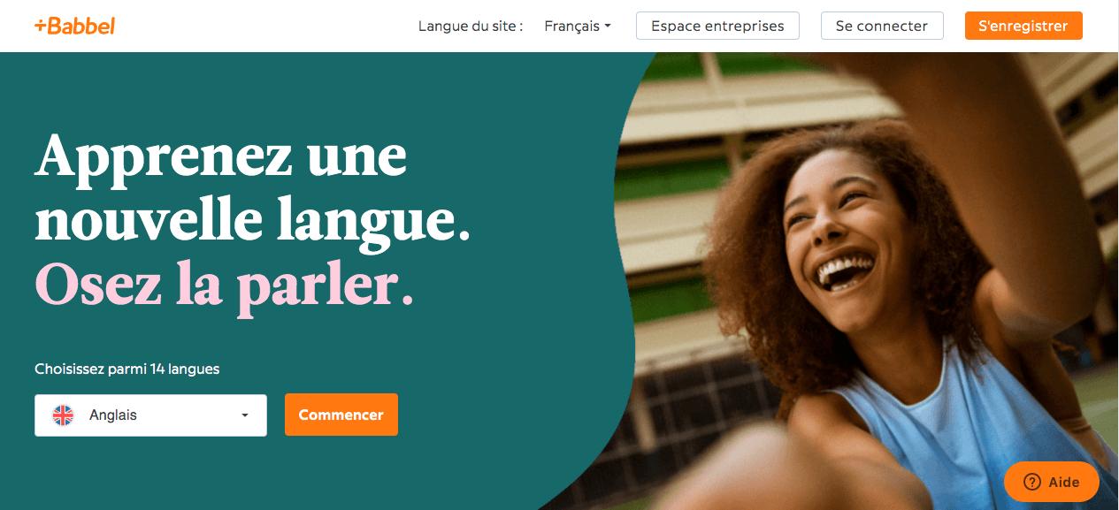 Babble cours de langues