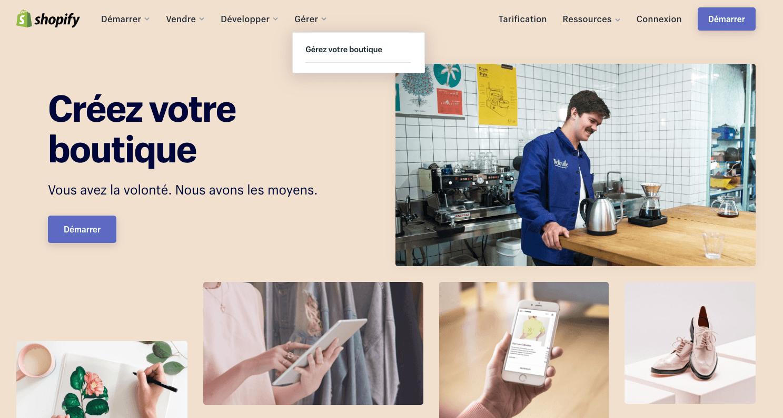 ouvrir une boutique travail à domicile