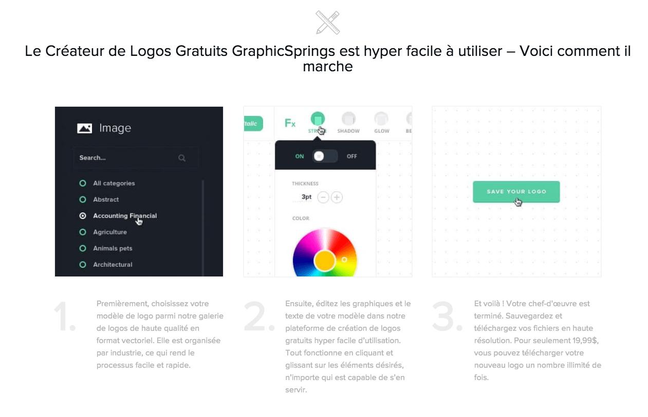 graphicsprings création logo facile entreprise