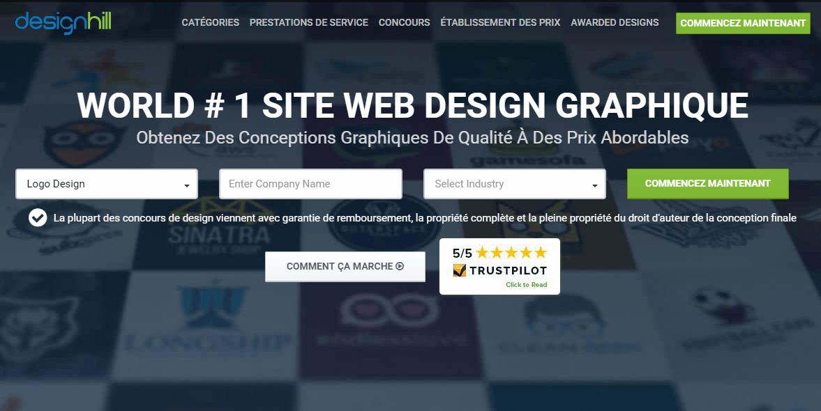 Design-hill logiciel création logo gratuit entreprise