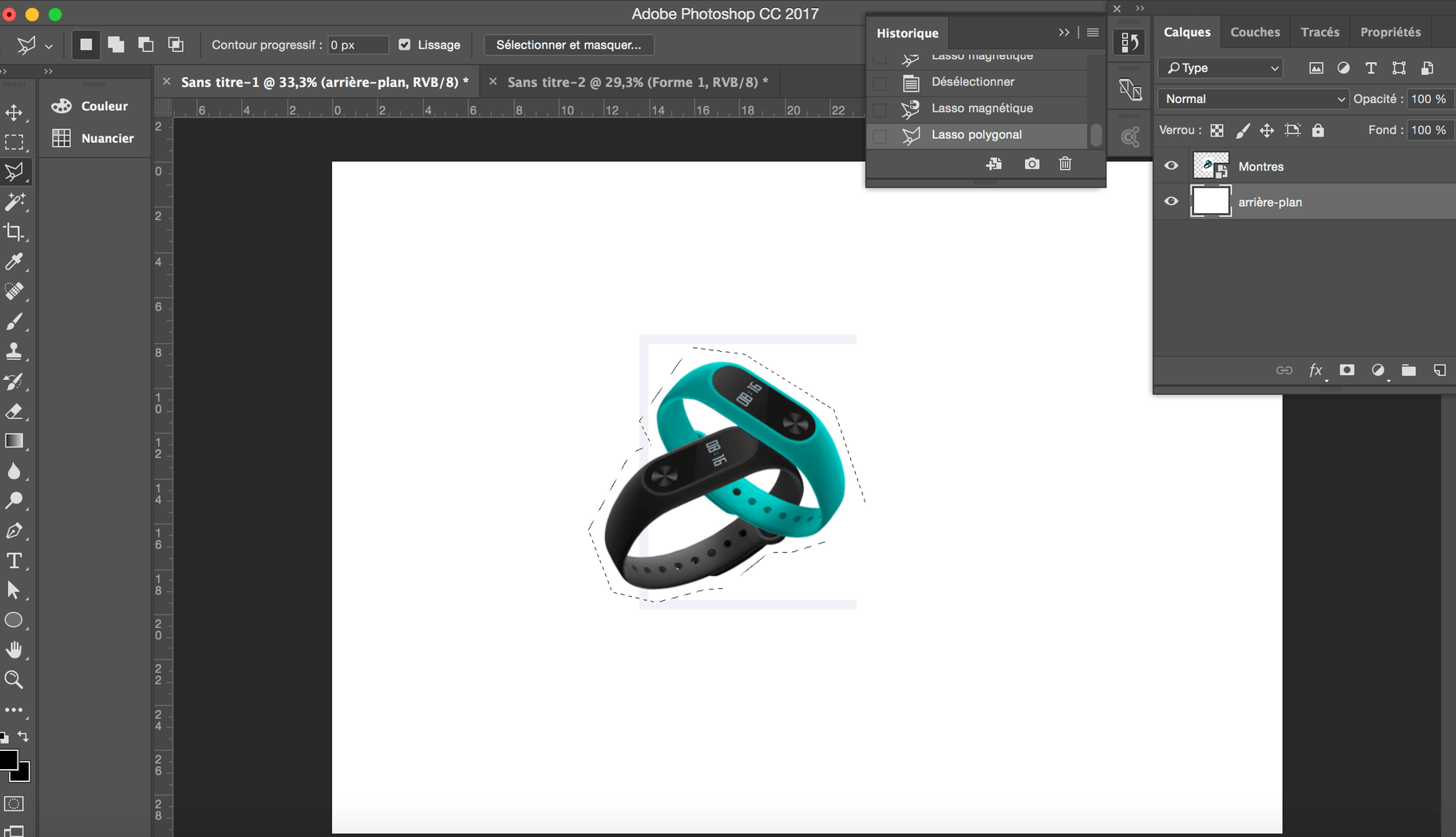photoshop lasso polygonal