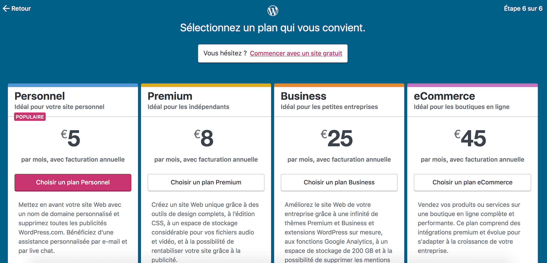Blog payant sur WordPress