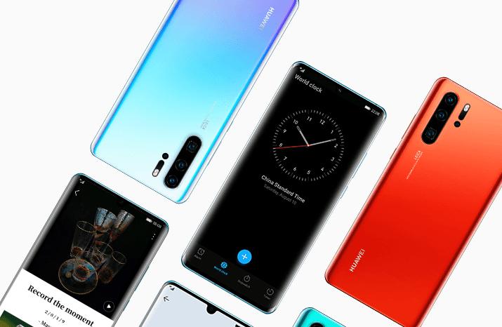 Faire une capture d'écran sur smartphone Huawei