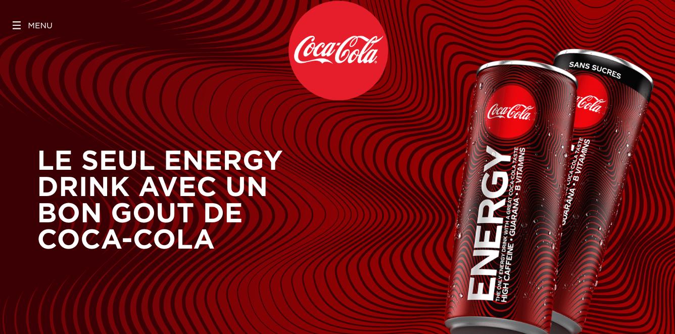 Signification couleur rouge chez Coca-Cola