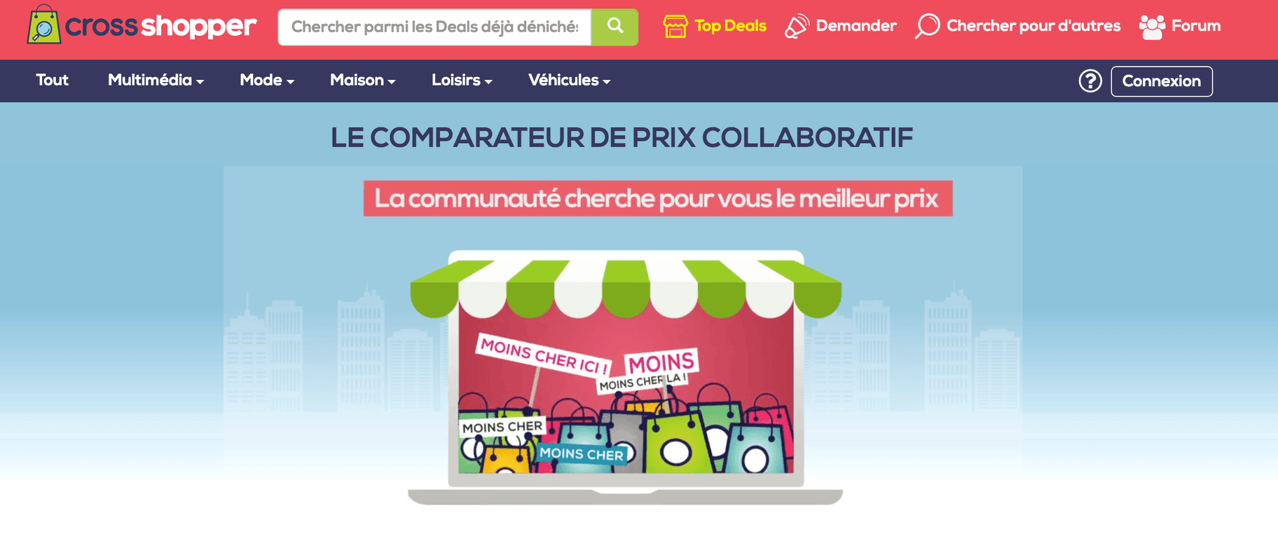Comparateur de prix Crossshopper