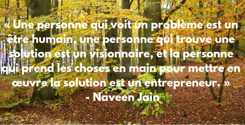citation inspirante entrepreneur