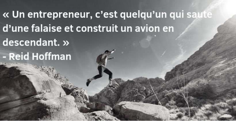phrase connue entrepreneur
