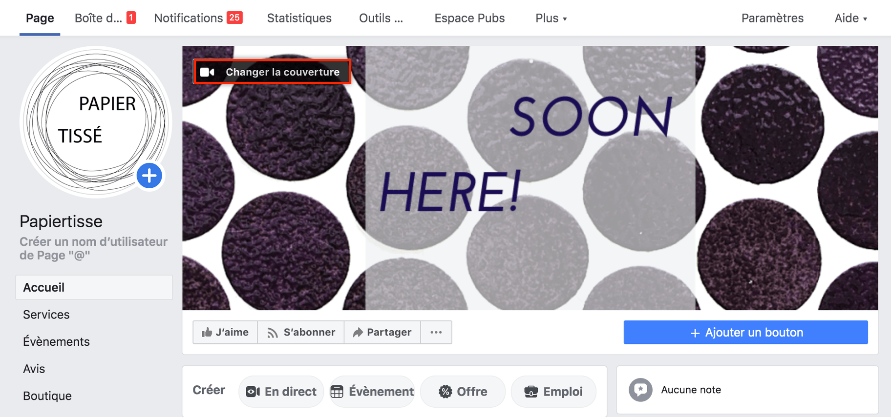 changer photo de couverture facebook