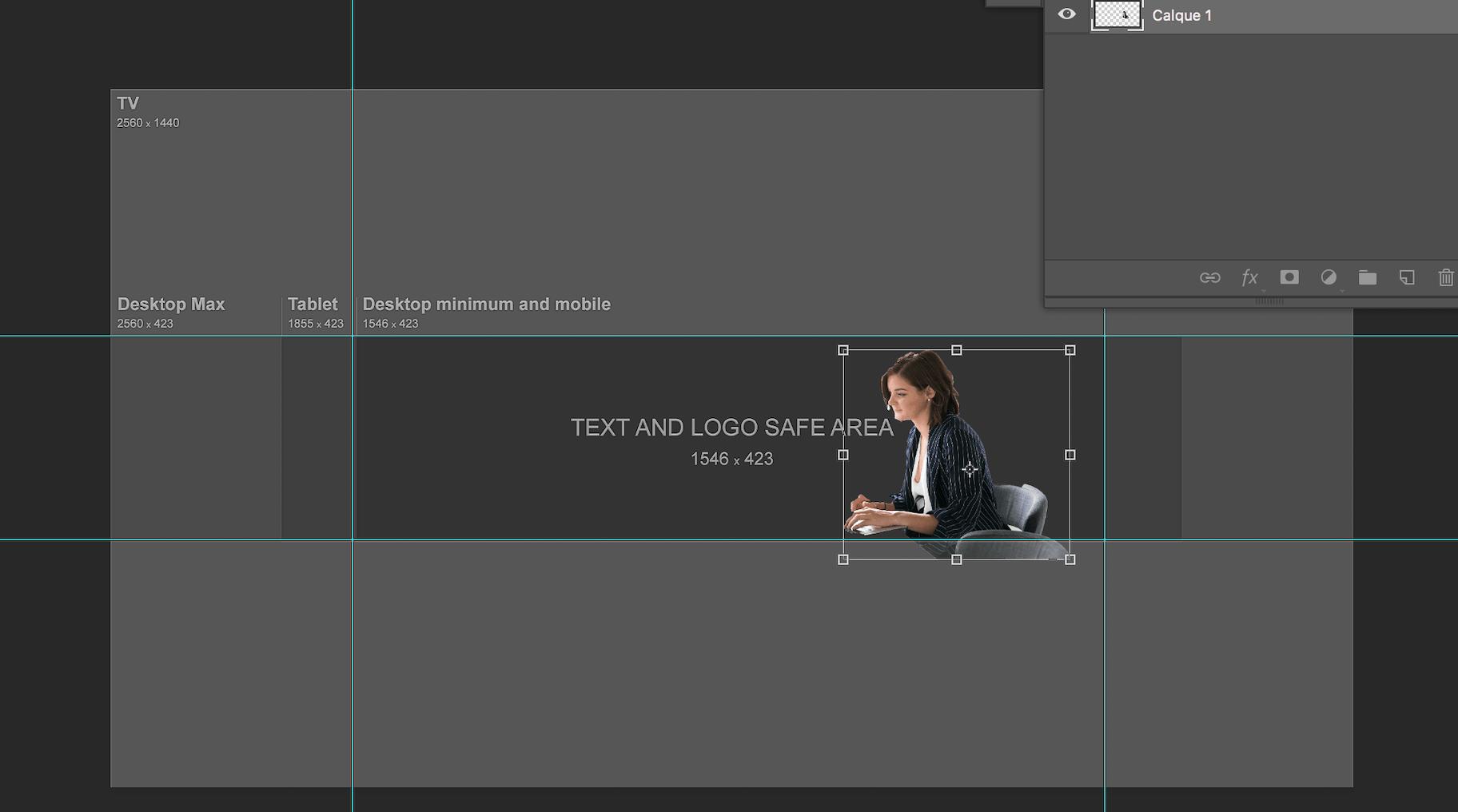 Créer couverture Youtube avec photoshop