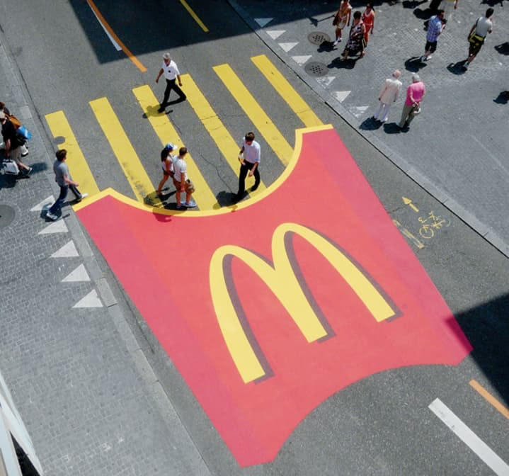 Strategie di marketing: guerrilla marketing McDonald's