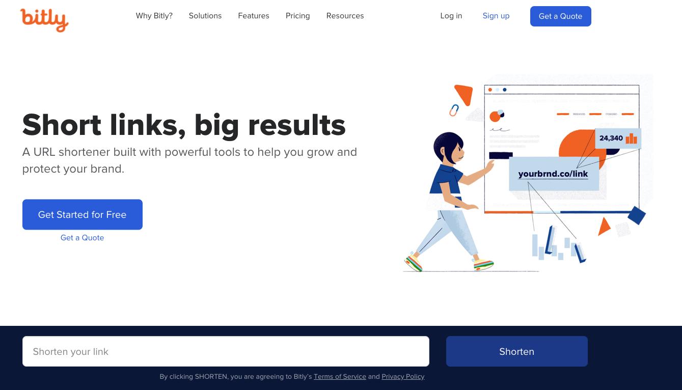 Bitly: affiliate marketing tools