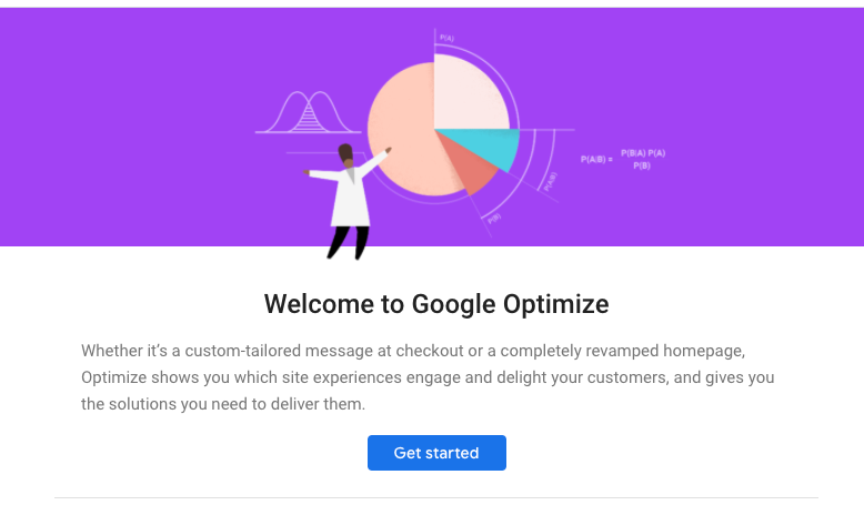 growth hacking tools: google optimize