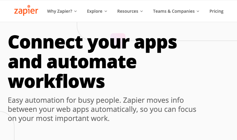 growth hacking tools: zapier