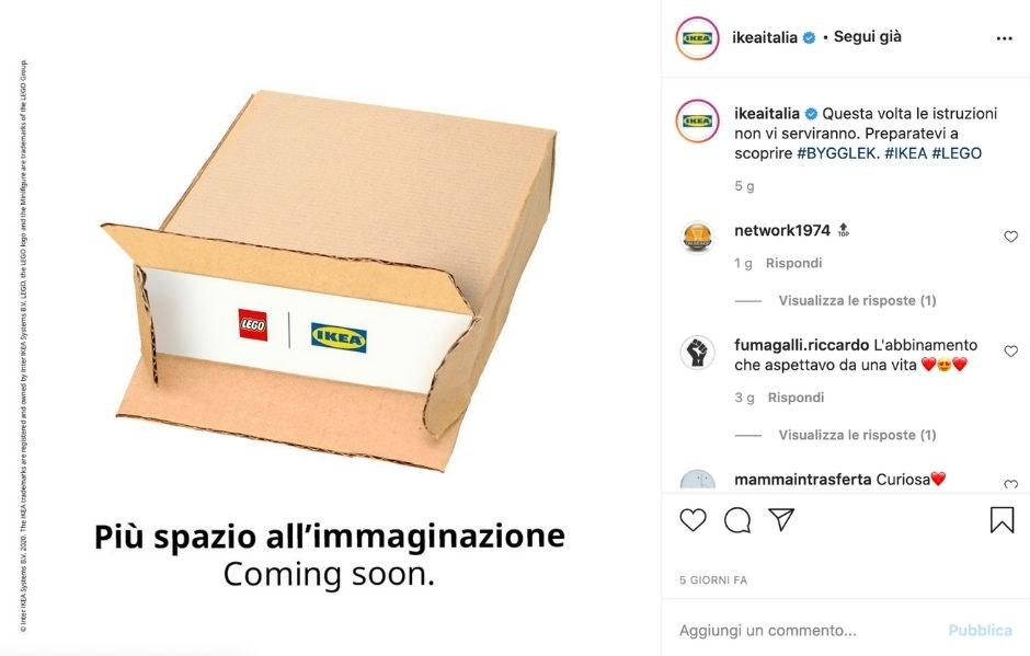 collaborazioni su Instagram tra brand