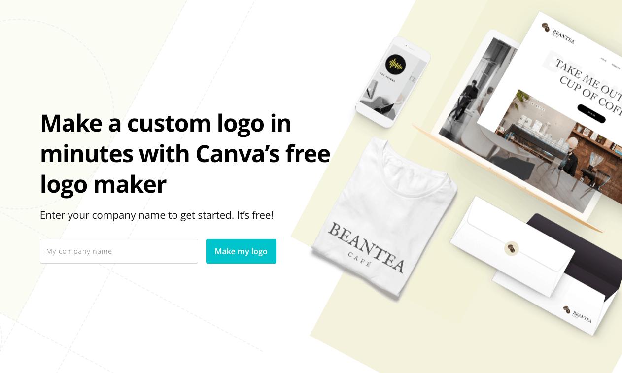 creare un logo con Canva