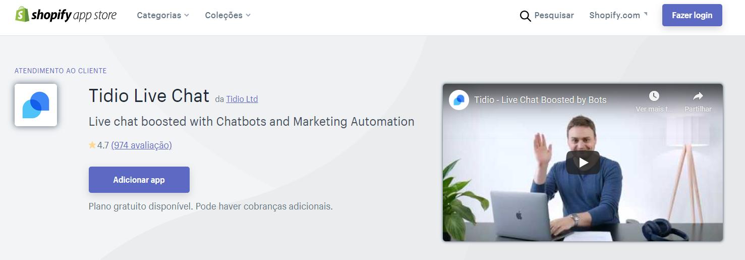 Tidio: app de gerenciamento para vender mais
