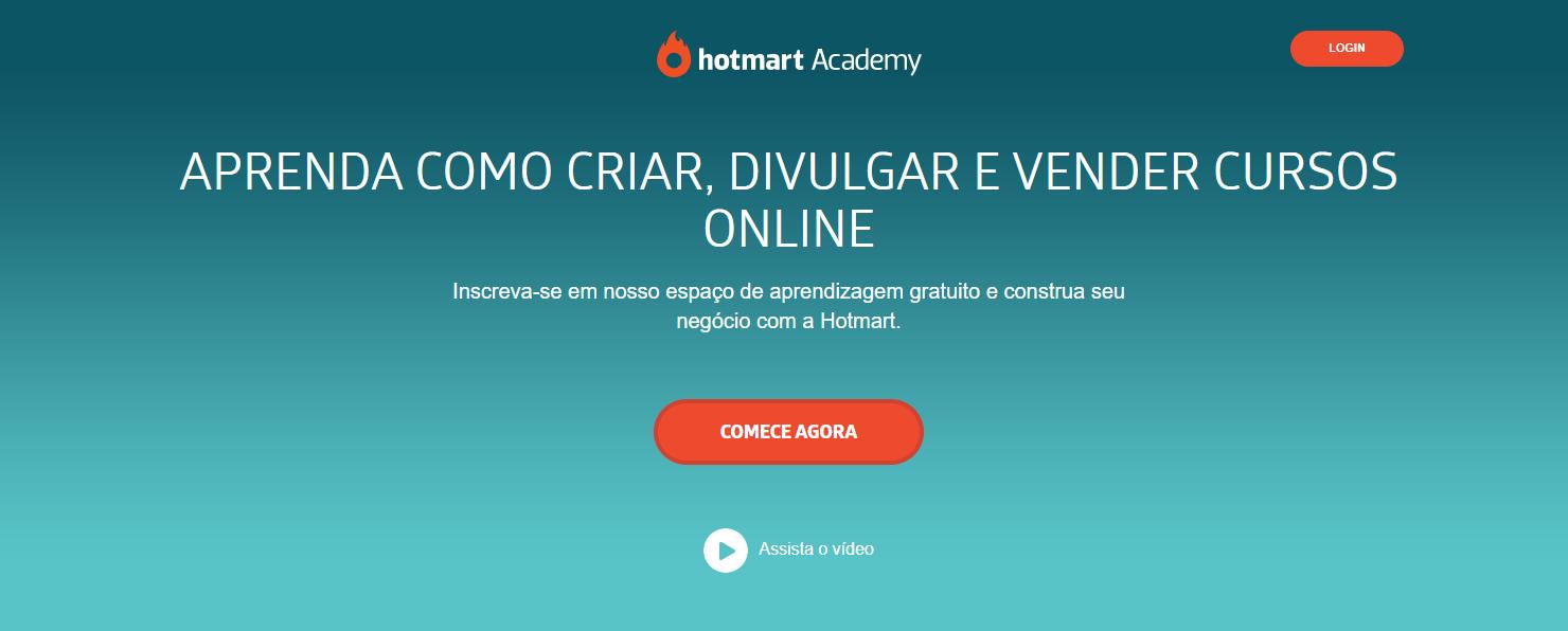 Curso online para empreendedores: Hotmart Academy, da Hotmart