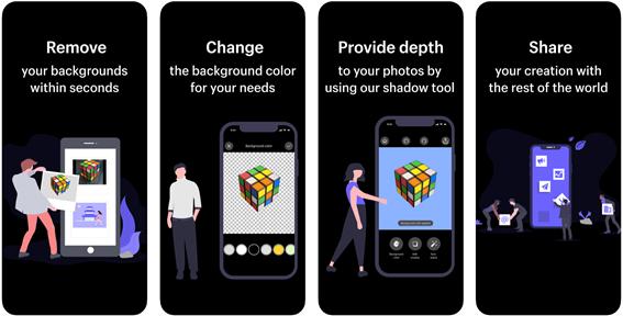 Scratch Photos: app para tirar fundo de imagem