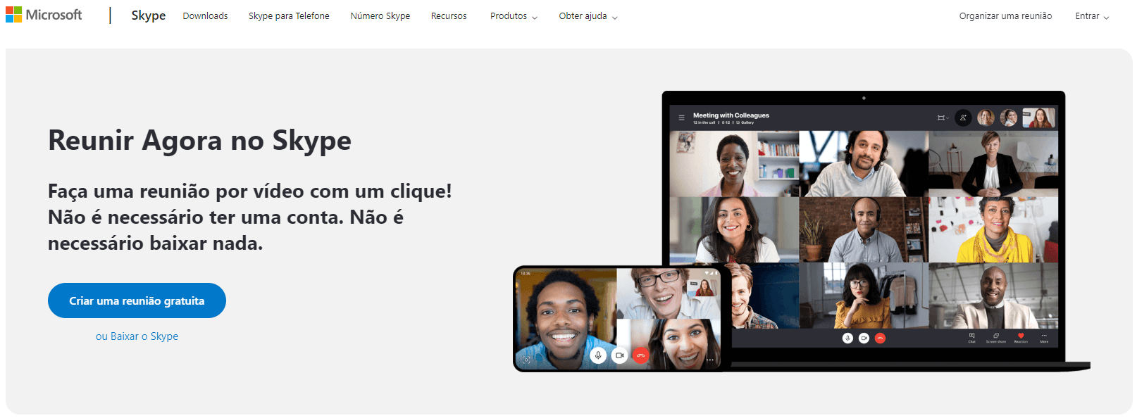 Skype: app para chamada de vídeo online