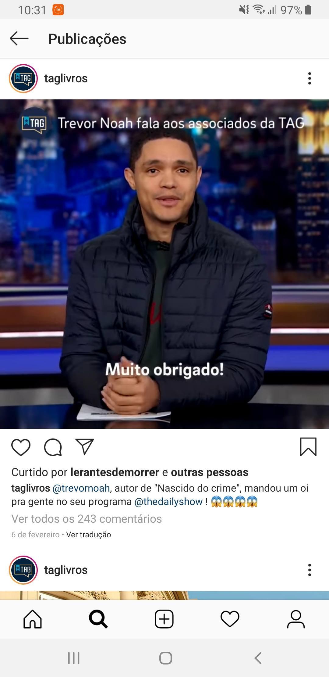 Formato de vídeo para Instagram: TAG