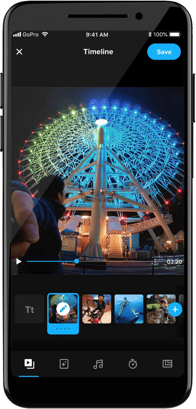 GoPro video free editor mobile