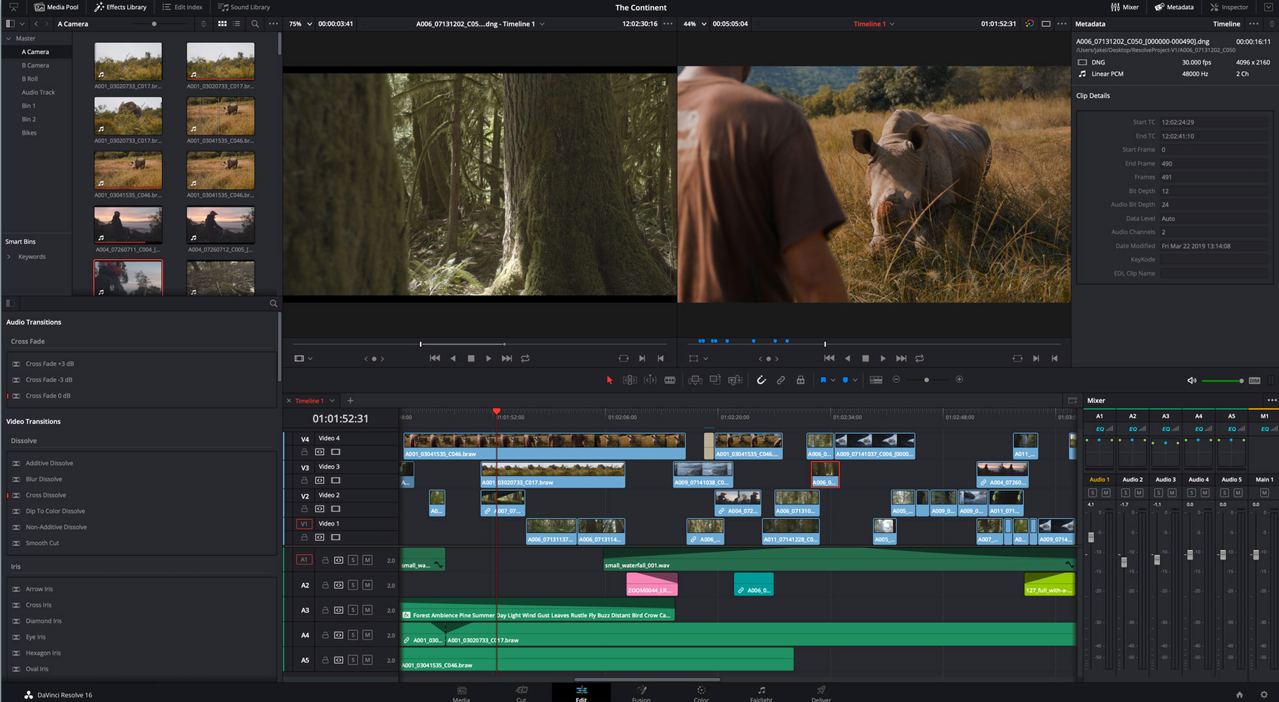 DaVinci Resolve Video Editing Software