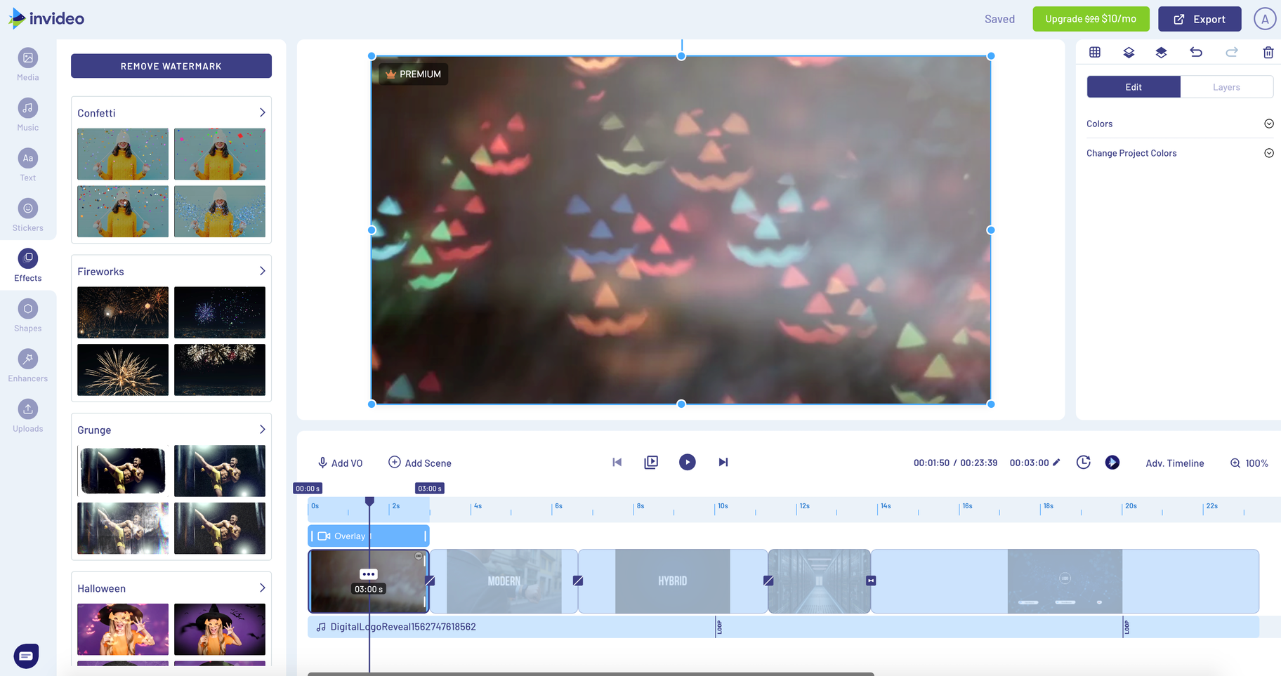 invideo online video editor