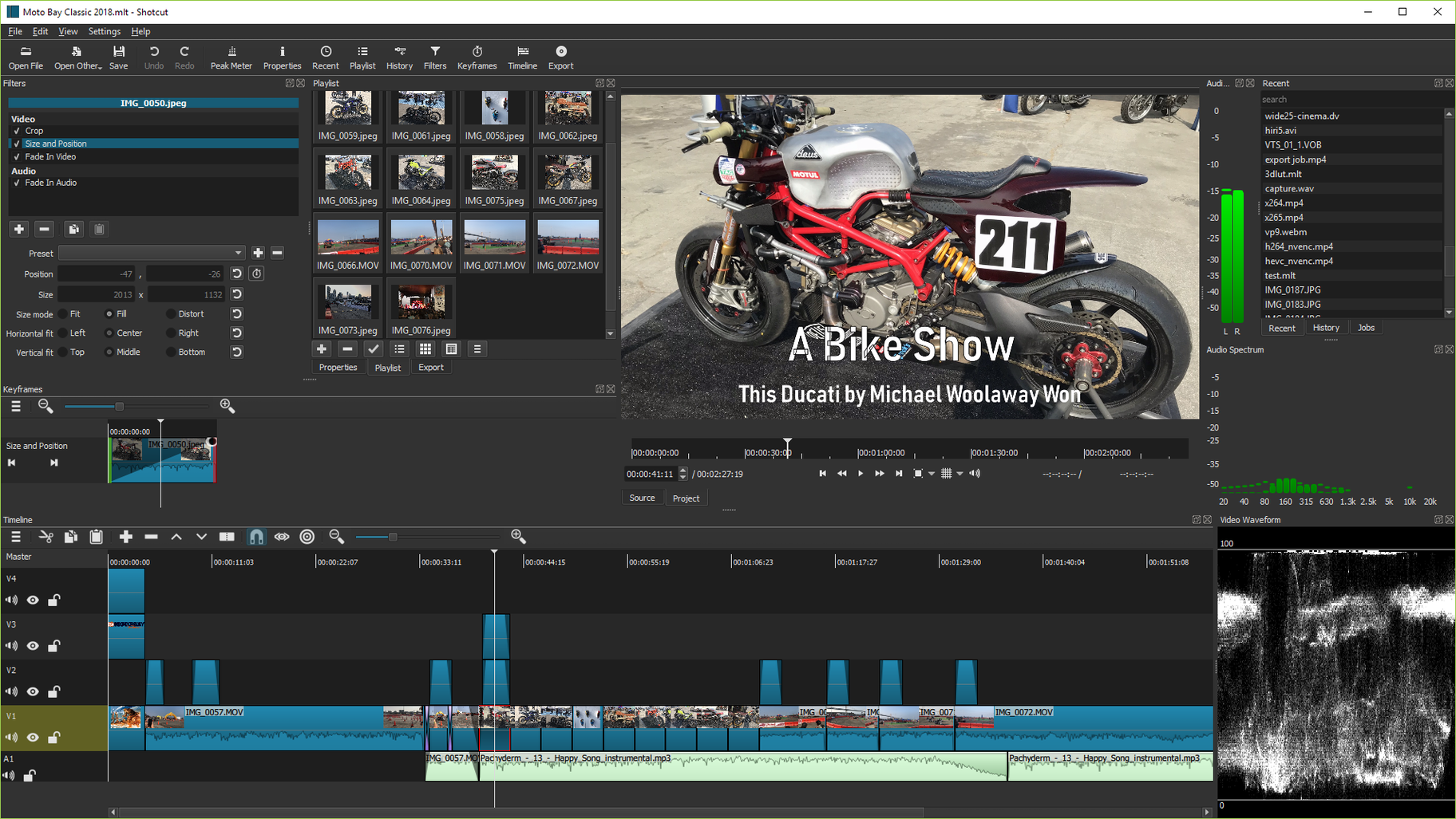 shotcut best desktop video editing
