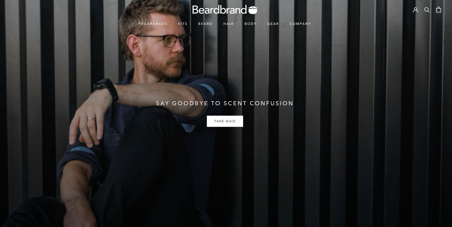 Shopify store for inspiration Beardbrand