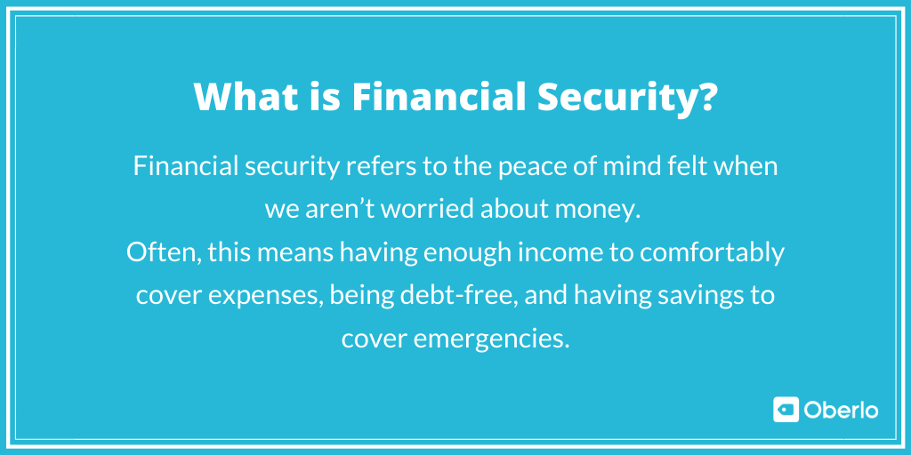 What is Financial Security?