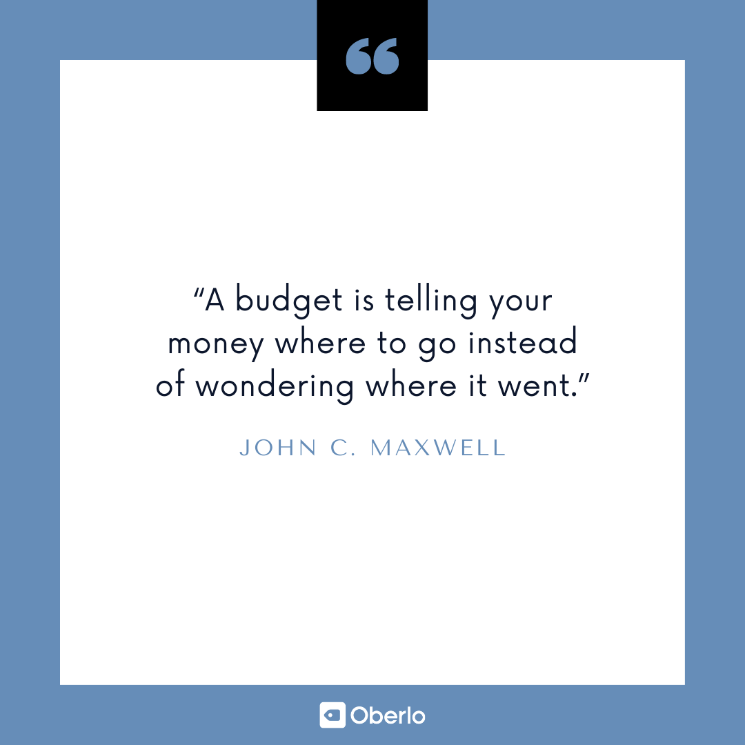 Personal Finance Tips: John C. Maxwell Quote