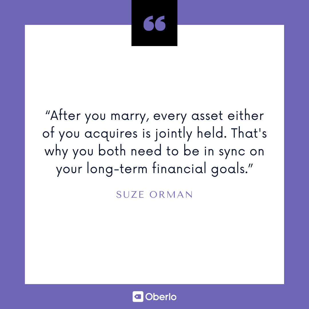 Best Financial Advice: Suze Orman Quote