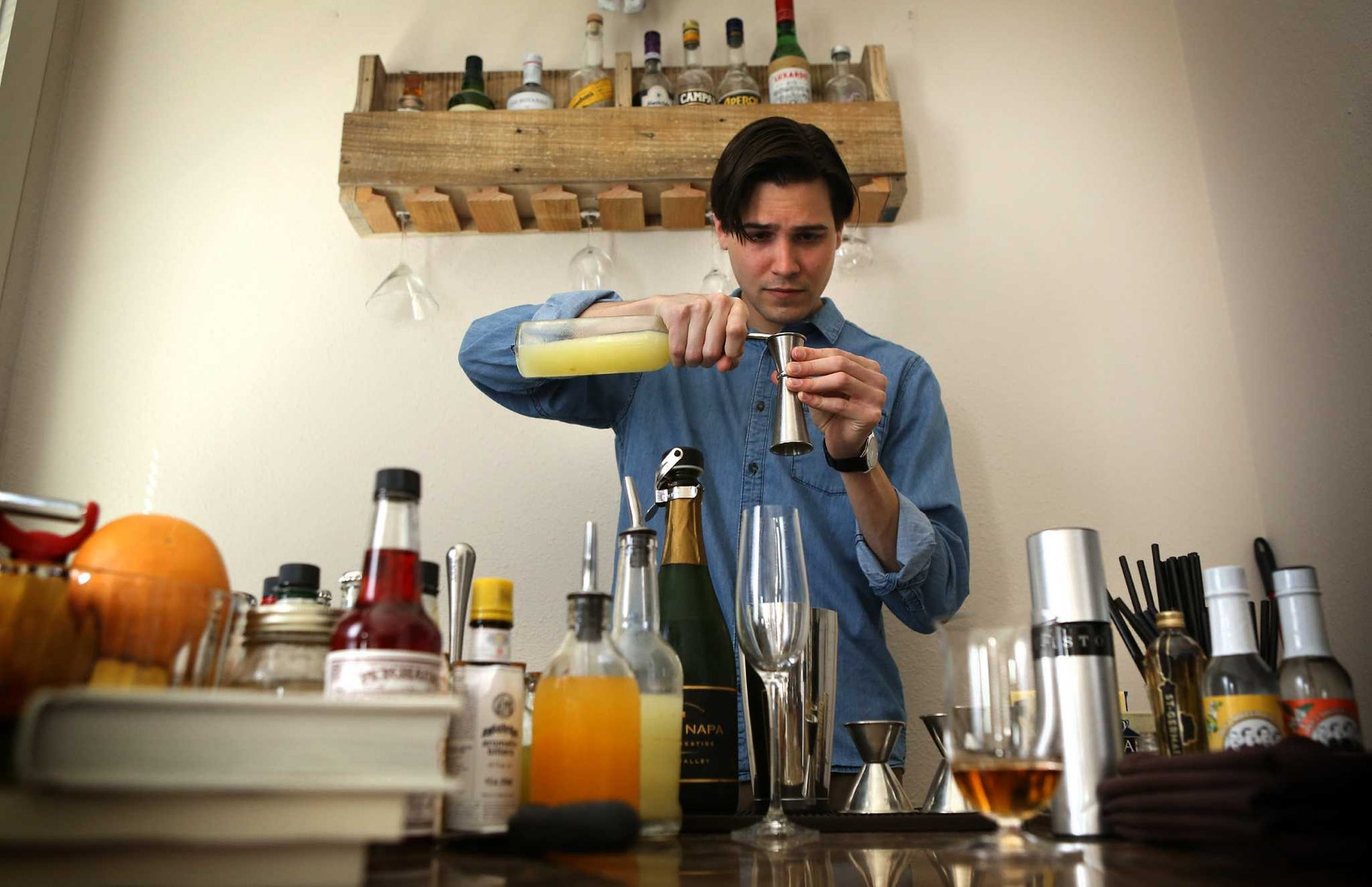 17. Invent your own cocktail or mocktail.