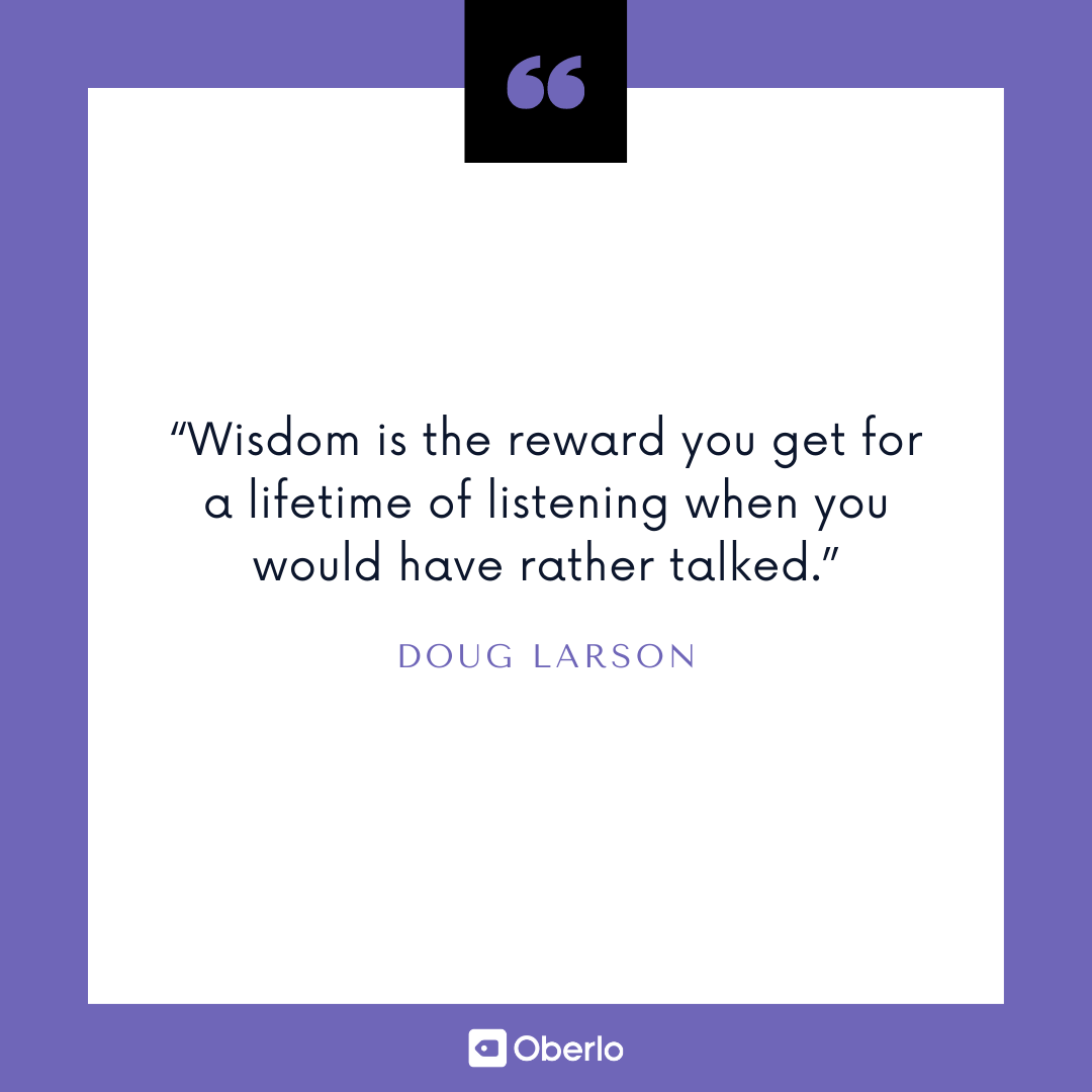 Improve Yourself Quote: Doug Larson