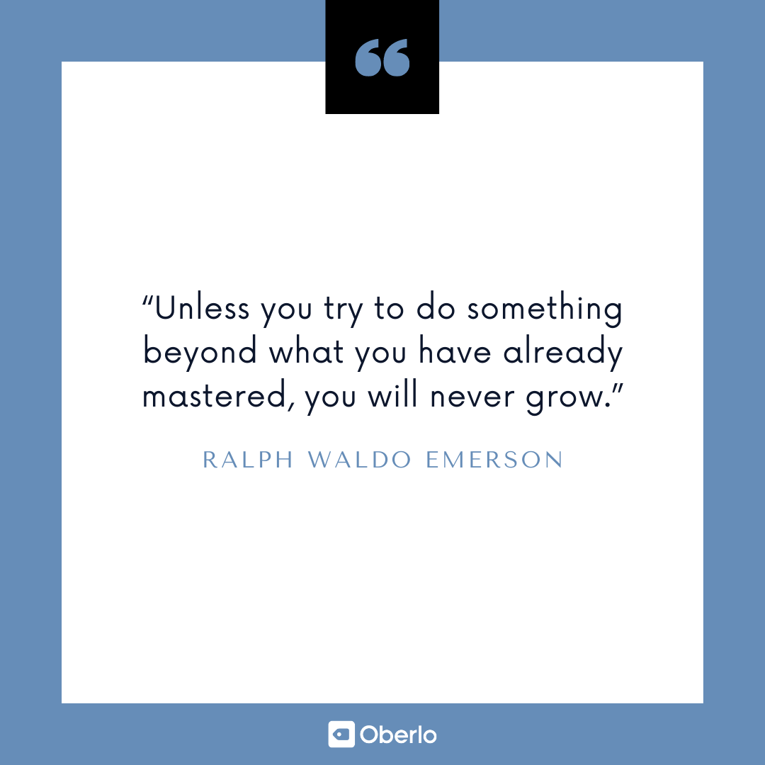 Improve Yourself Quote: Ralph Waldo Emerson