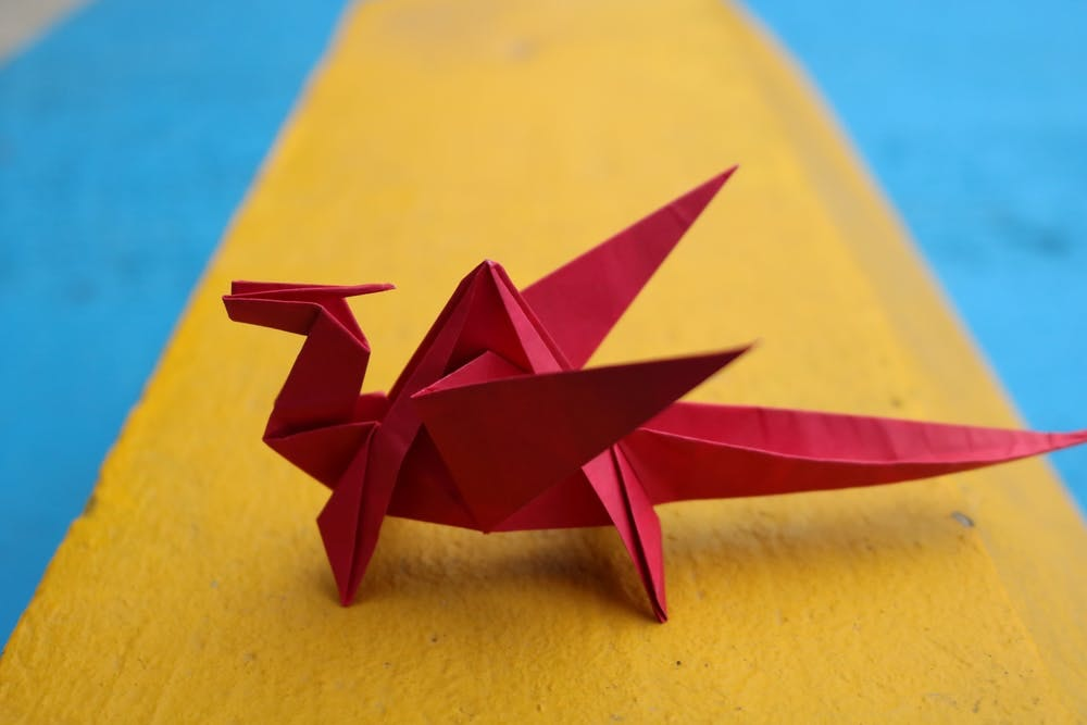 Origami inexpensive pastime