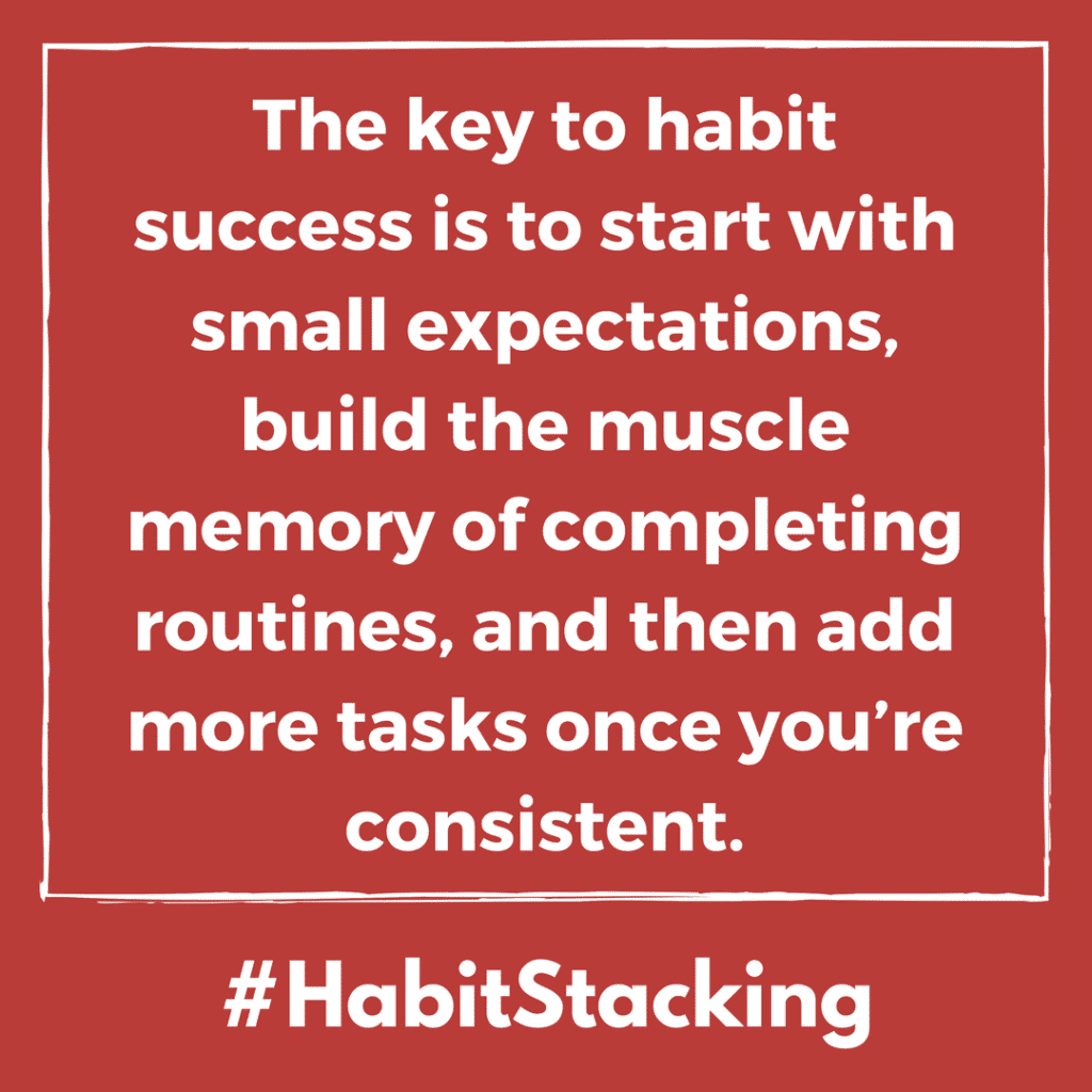 habit stacking tips about life