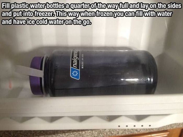 How to Make Ice-Water To-Go