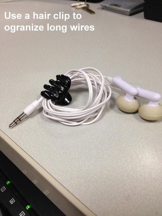 How to Organize Your headphones