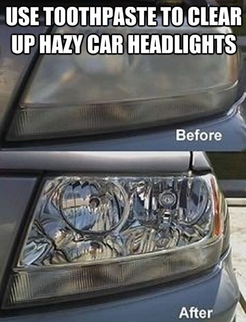 How to Clean Hazy Headlights