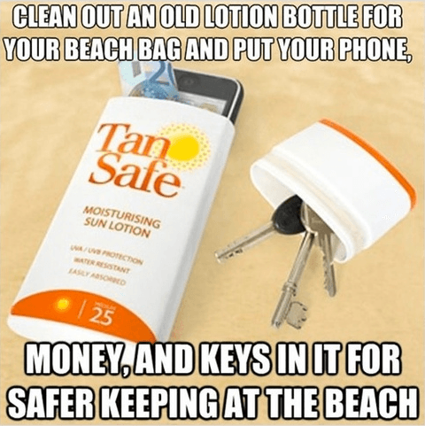How to Keep Things Safe at the Beach