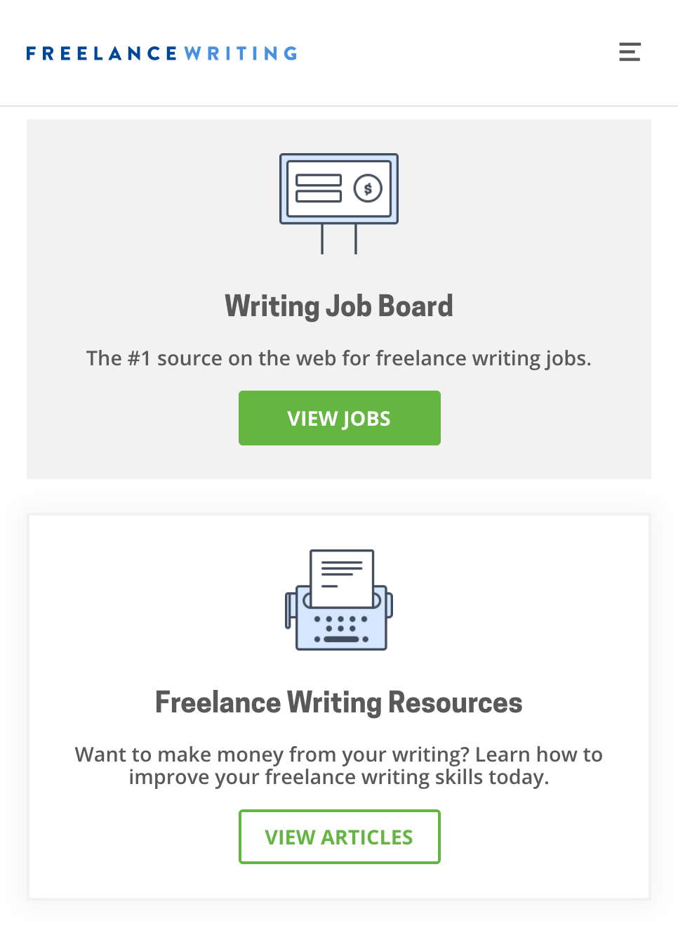 Freelance Writing: Jobs
