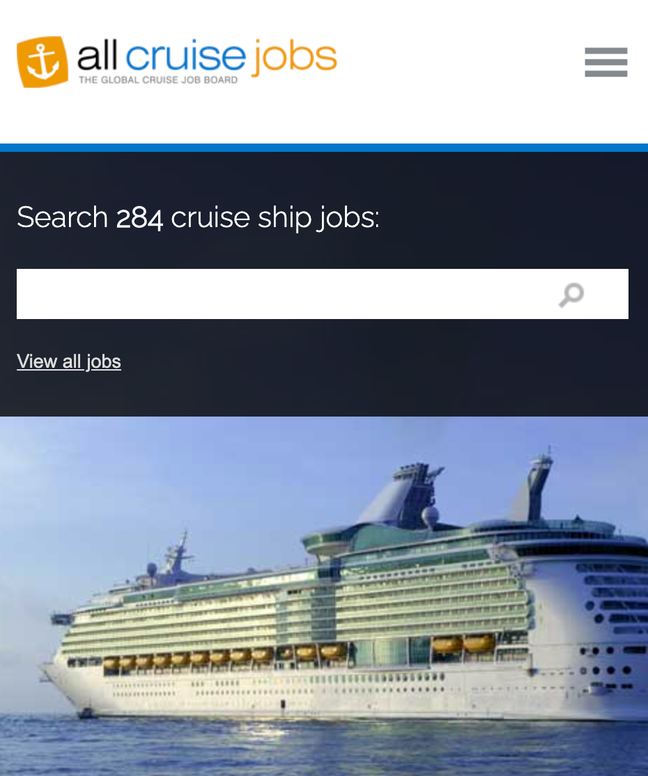 Jobs That Pay to Travel: All Cruise Jobs