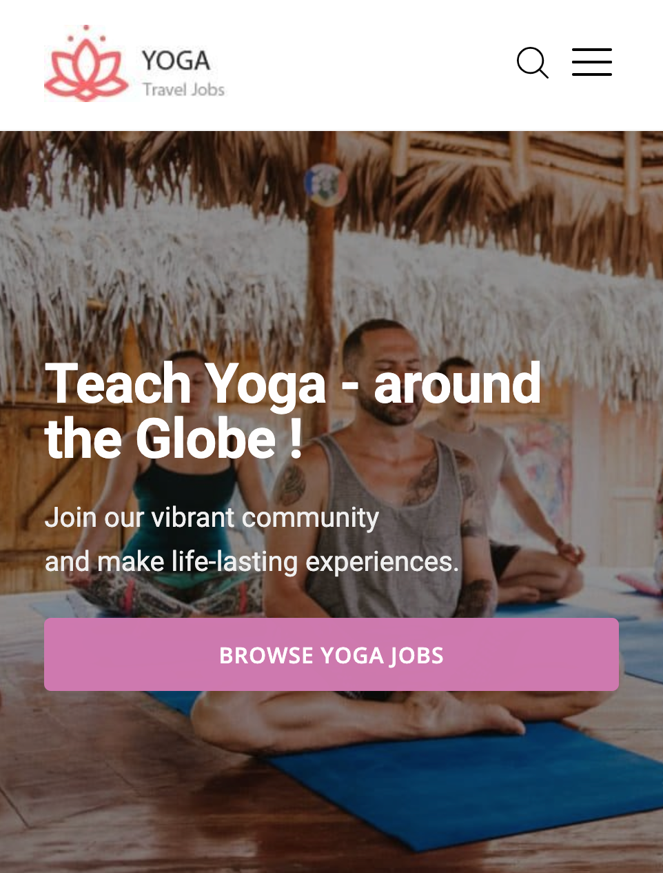 Yoga Travel Jobs