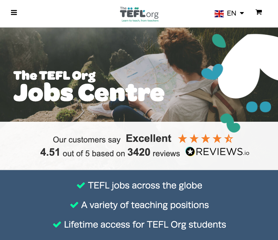 Jobs Related to Travel: TEFL