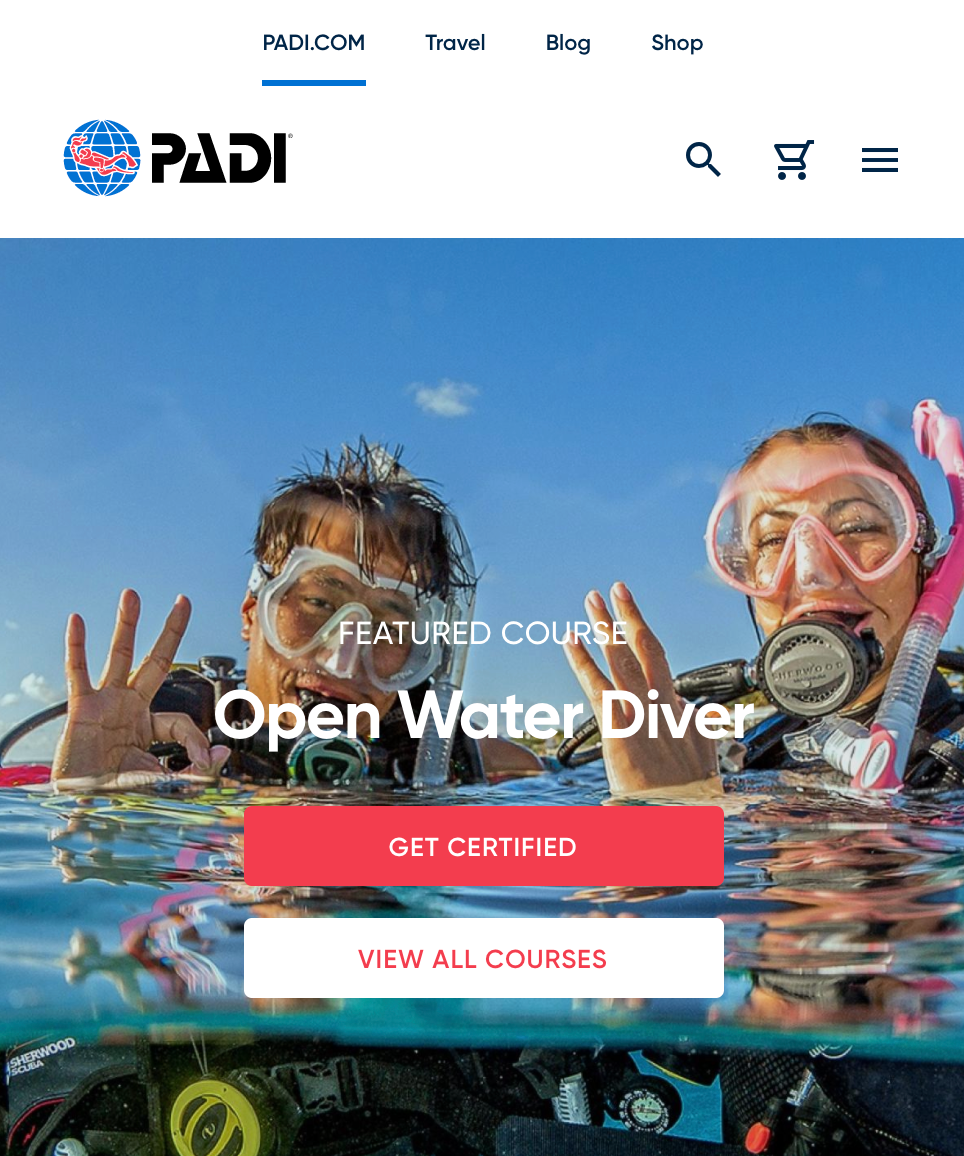 Travel Jobs: PADI Scuba Diving Instructor